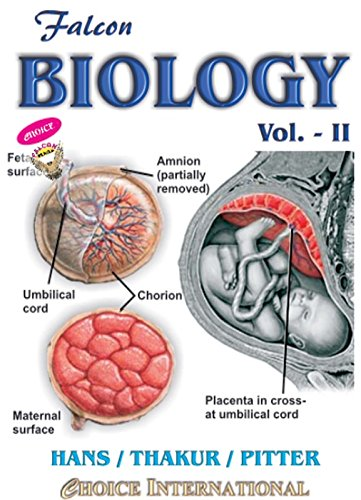 FALCON BIOLOGY - II; Fully Multi-Coloured Edition - 1008 Pages - ( For Class XII)