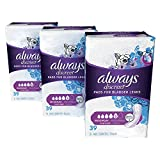 Always Discreet Incontinence Pads for Women, Maximum Absorbency, Long Length, 117 Count
