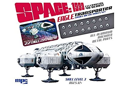 Amazon.com: Space 1999: Eagle Transporter Metal Parts Set by MPC ...