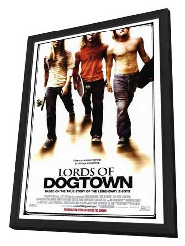 Lords of Dogtown - 27 x 40 Framed Movie Poster (Poster Movie Dogtown Of Lords)