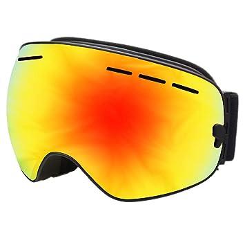 Gafas De Esquí, Doble Capa Antiempañamiento Gafas De ...
