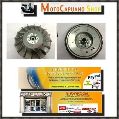 Volante Rotor Generador todas las Vespa PX 200 150 125 AVV.Eléctrico Arcoíris: Amazon.es: Coche y moto