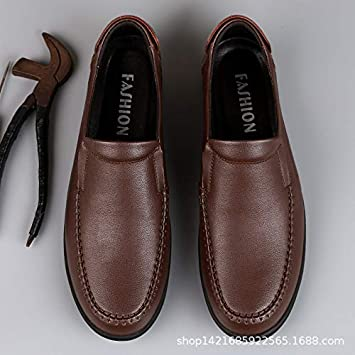 LOVDRAM Zapatos De Cuero Para Hombre Primavera Zapatos De