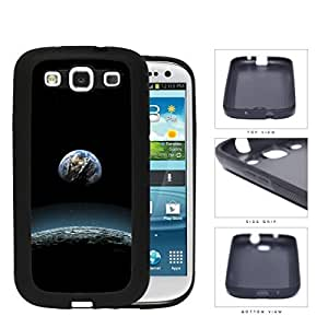 Earth Aerial View From The Moon Rubber Silicone TPU Cell Phone Case Samsung Galaxy S3 SIII I9300