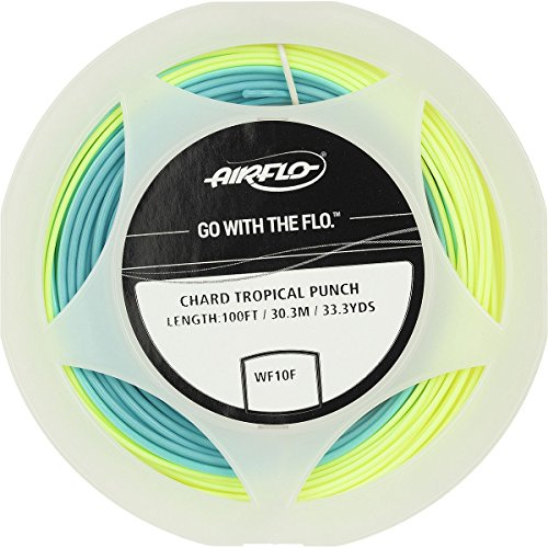 Floating Wf8 (Airflo Bruce Chard Tropical Punch Line Sky Blue/Pale Yellow, WF8)