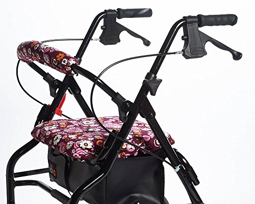 RMS Walker Seat & Rollbar Cover Set (Pinwheel Flower)