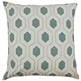 The Pillow Collection Spa Flynn Geometric Bedding Sham, Queen/20'' x 30''