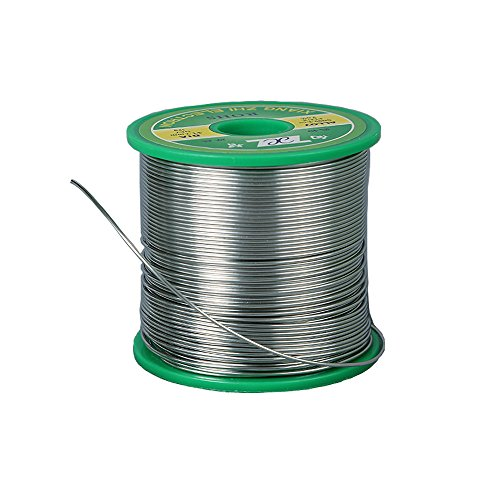 BestTong Lead Free Solder Wire with Rosin Core ( 0.5mm, Sn99%-Ag0.3%-Cu0.7%, flux 2.0%, 500g ), for Most Electrical Repair Soldering and DIY