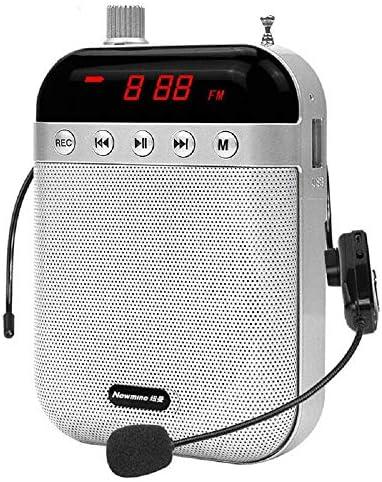 Amplificador de Voz portátil Diadema con micrófono Cable Formato de Audio para Profesores guías presentaciones Entrenadores promociones Cantar Etc: Amazon.es: Electrónica
