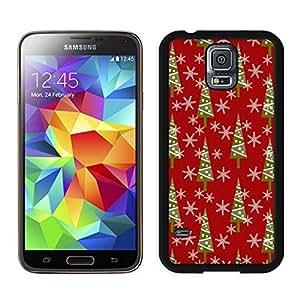 Customized Design Christmas Vintage retro patterns Black Samsung Galaxy S5 Case 1
