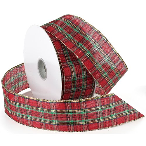 Top Best 5 plaid ribbon for christmas tree for sale 2016 ...