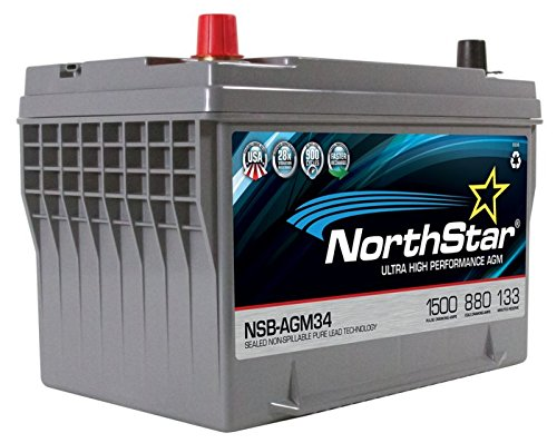 NORTHSTAR Pure Lead Automotive Group 34 Battery NSB-AGM34 ()