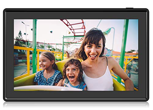 Display and Share Photos via Nixplay Mobile App Motion Sensor and 10GB Online Storage Nixplay 15.6 Inch Smart Photo Frame W15C Black Digital WiFi Picture Frame with 1920x1080 FHD Display