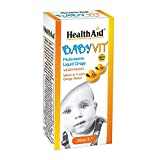Health Aid Baby Vit – Orange Flavour (Ages 0 to 4 Years) 25ml Drops Review