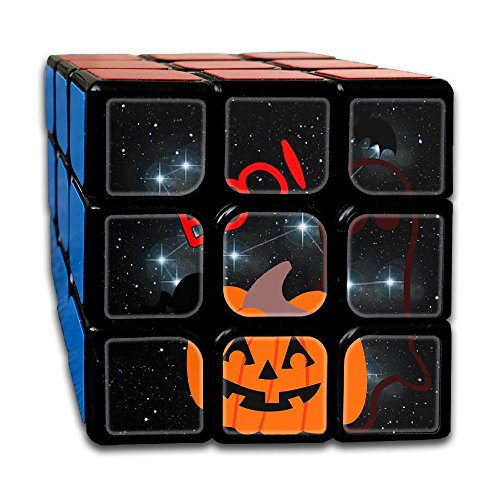 Halloween Boo Best-selling 3x3 Fidget Cube Super-durable With Vivid Colors Bearing Toy Adults & Children For Killing Time Or Relaxation (3d Printer Halloween Costumes)