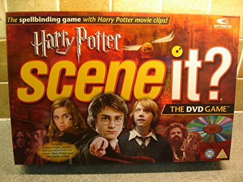 (Harry Potter Scene It DVD Game With Bonus Images and Questions (2005 Edition) by Mattel)
