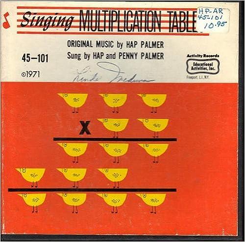 Amazon Singing Multiplication Tables 9789999390477 Hap
