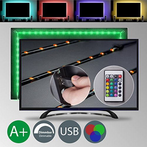 LED TV Backlight | Bias Lighting | 4 LED strips for HDTV | 40 - 55 - 60...