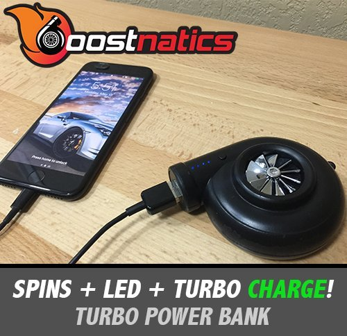 Boostnatics Turbo Power Bank