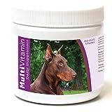 Healthy Breeds Dog Daily Supplement Soft Chews for Doberman Pinscher,...