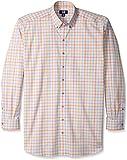 Cutter & Buck Men's Big and Tall Long Sleeve Apollo Plaid Shirt, Multi, 3X/Big