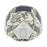 emerson acu - Leagway Tactical Military Combat Helmet Cover for Ops-Core Fast Ballistic Helmet, Airsoft Paintball Hunting Shooting Gear Fast Helmet Cover (ACU)
