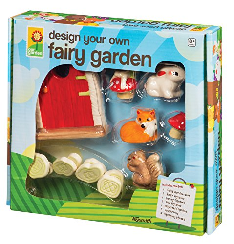 Toysmith 4280 Fairy Garden Playset