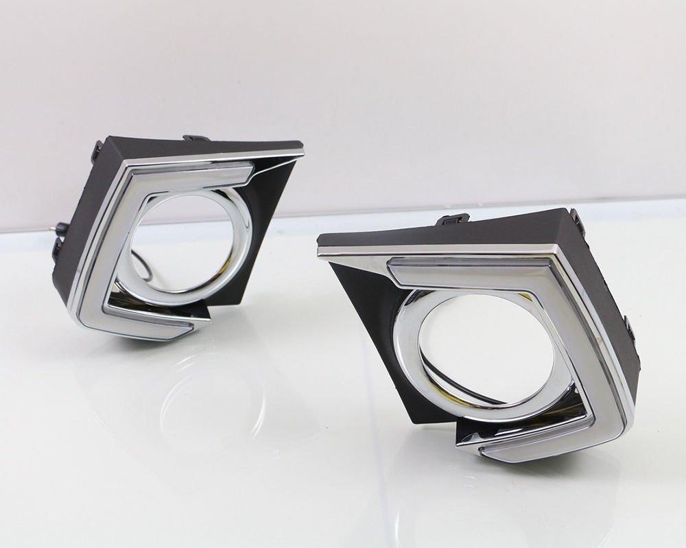 Motorfansclub Daytime Running Light Led Drl Fog Lamp For Triton Complete Mitsubishi L200 2015 2016 Automotive