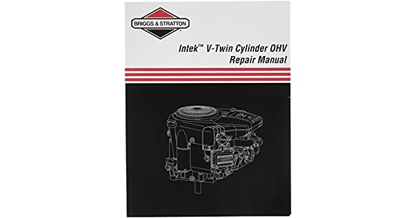 Amazon.com: Briggs & Stratton 273521 Intek V-Twin OHV Manual ...