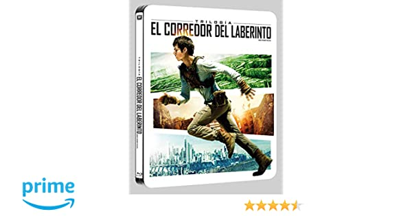 Pack Trilogia El Corredor Del Laberinto Black Metal Edition Blu-Ray ...