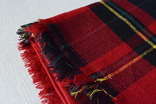 G-beanbang - Bufanda - para mujer Rojo