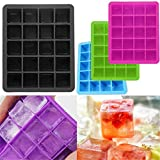 OrliverHL 20 Cavity Large Cube Ice Pudding Jelly Maker Mold Mould Tray Silicone Home Tools