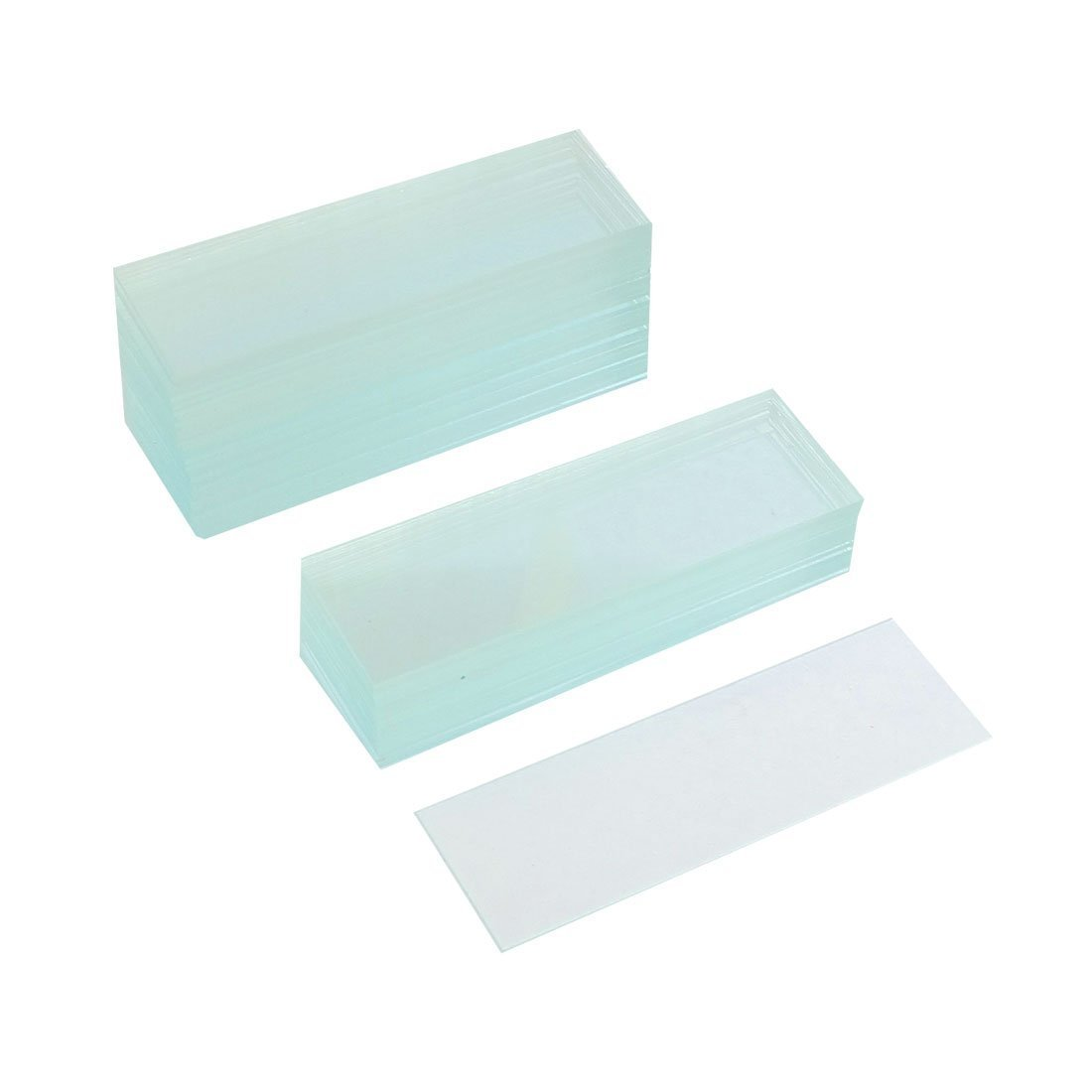 50 Pcs Pre-cleaned Microscope Blank Glass Slides 1'x3' Sourcingmap a12090600ux0828