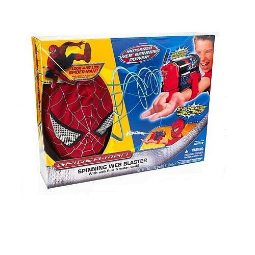 (Spiderman Trilogy Dexluxe Spinning Web Blaster and Mask)