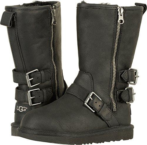 UGG Girls K Kaila Boot, Black, 5 M US Big - 5 Size Boots Ugg Youth