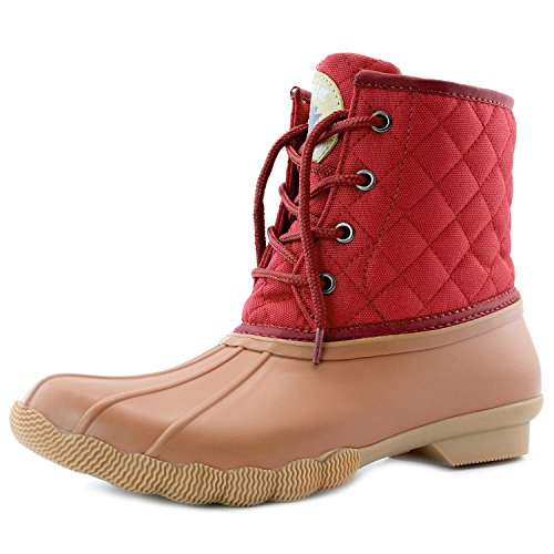 quilted duck boots - 5