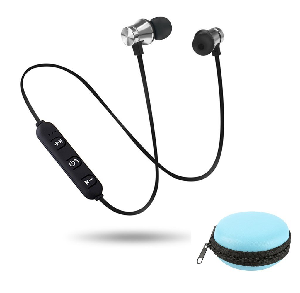 S8 Wireless Magnetic Bluetooth Earphone Wireless Sports Headphones Stereo Bass Music Earpieces with Mic Headset