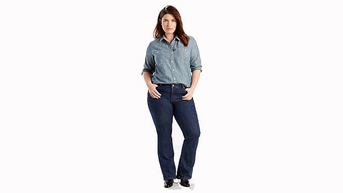 37a44f51cca Levi s Women s Plus Size 415 Classic Bootcut Jeans  Amazon.com.au ...
