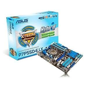 Asus P7P55D-E LX - Placa base Intel (zócalo LGA1156, memoria DDR3, PCI-e, USB 3.0, SATA, ATX)