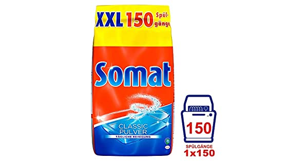 Amazon.com: Somat Classic - Detergente para lavavajillas XXL ...