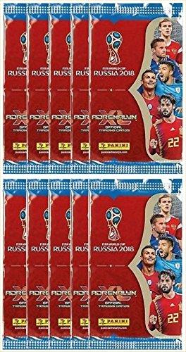 Russia Card (Panini 2018 WORLD CUP RUSSIA Adrenalyn XL Soccer Cards. TEN (10) Packs. Look for Stars Like Lionel Messi, Ronaldo, Neymar, Kane, Modric, Etc.)