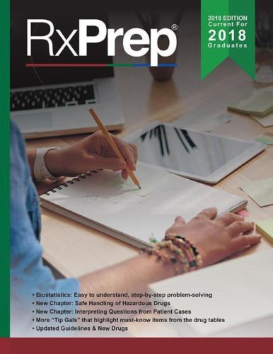 RxPrep's 2018 Course Book for pharmacist licensure exam preparation