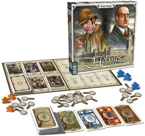 Devir- Holmes: Sherlock and Mycroft Juego de Mesa, Multicolor ...