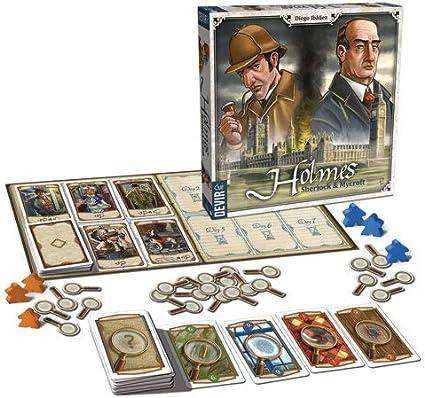 Devir- Holmes: Sherlock and Mycroft Juego de Mesa, Multicolor (BGHOLMES): Amazon.es: Juguetes y juegos