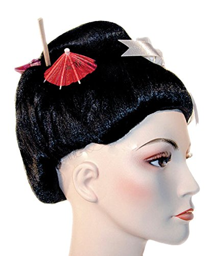 Lacey Wigs Geisha Fancy Bargain Black -