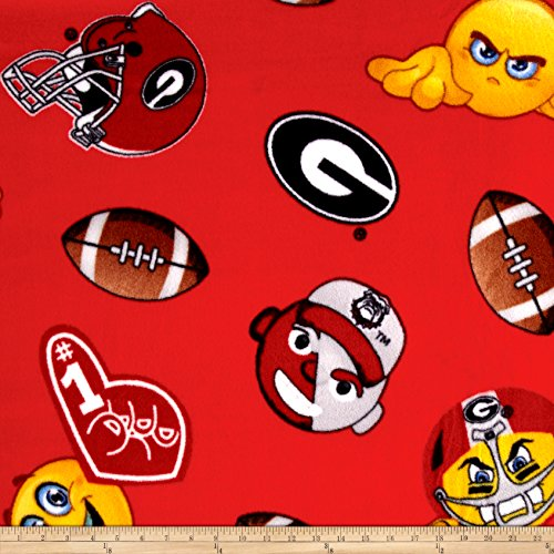 Georgia Bulldogs Fleece Throw - 5
