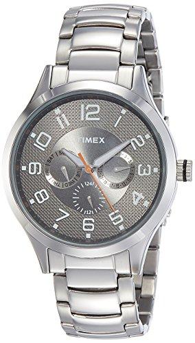Timex Fashion Analog Silver Dial Men #39;s Watch   TW000T307