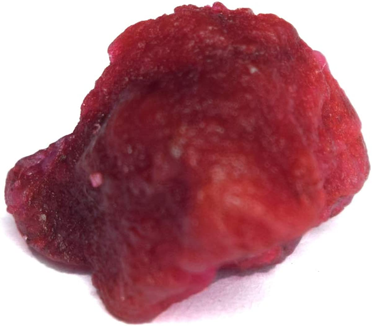 A Grade Natural Raw Rough Red Ruby 9.00 Ct Healing Crystal Rough Ruby Stone for Cabbing
