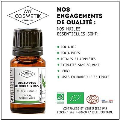 Aceite esencial de Eucalipto globulus orgánico - MyCosmetik - 5 ml ...