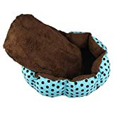 VT BigHome Dog Bed Indoor Polka Dot Print Winter